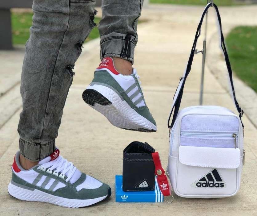 Tenis, Bolsos Y Billetera Adidas