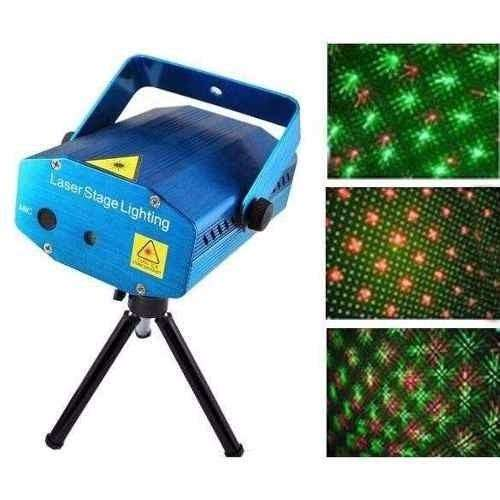 Proyector Laser Lluvia De Color Disco Fiesta AUDIORITMICA
