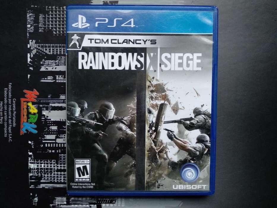 Rainbow Six Juego Ps4