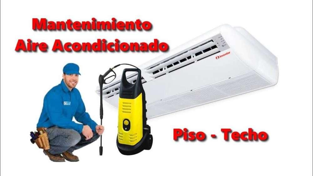 Reparacion, mantenimiento , revision y diagnostico de aires acondicionados de todas las marcas
