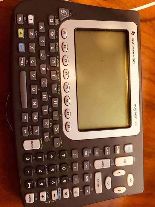 <strong>calculadora</strong> Texas Instruments Voyage 200