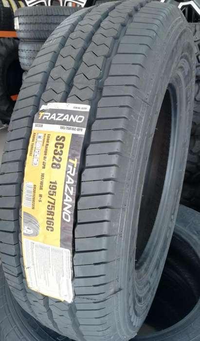 Llanta 195/75R16C TRAZANO SC328