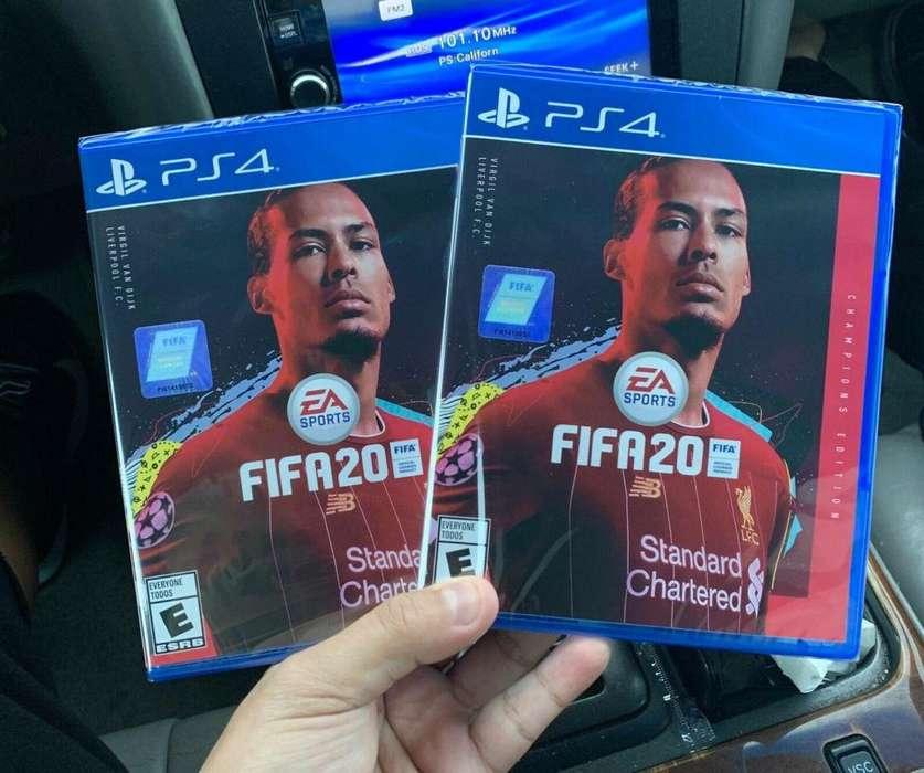 Fifa 20 edicion Champions Playstation 4
