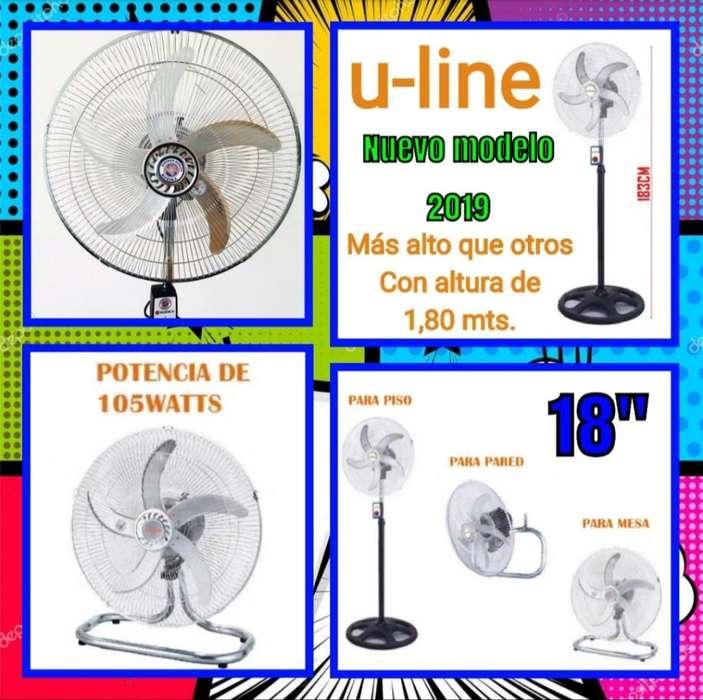 Ventilador Industrial 18 3 en 1 Oferta