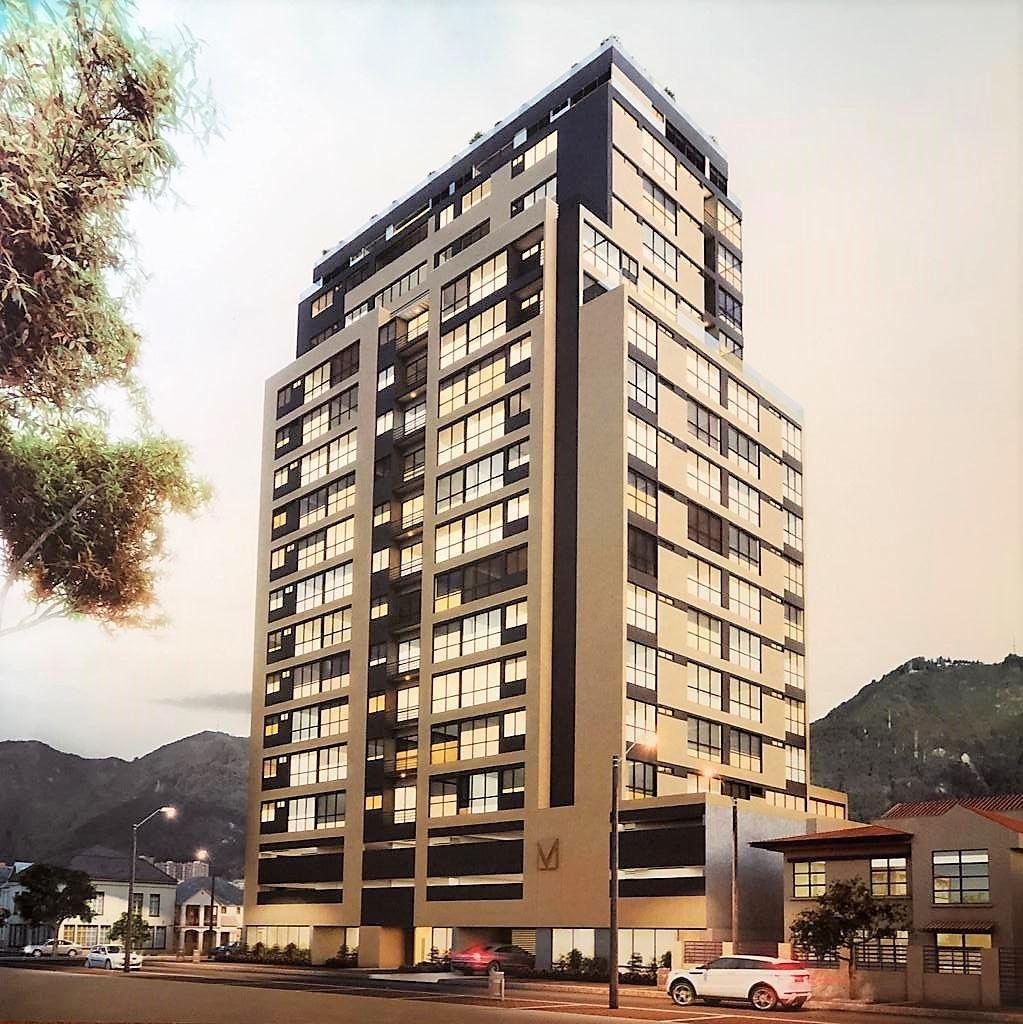 Vendo Apartamento nuevo 46m2 en Teusaquillo - Park Way.