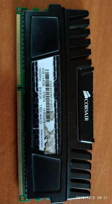 Memoria Ram Corsair Vengeance 4gb 1600mhz