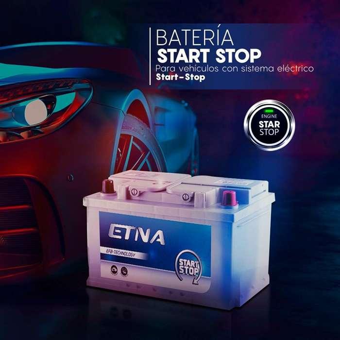 Batería Etna Star Stop - Libre mantenimiento