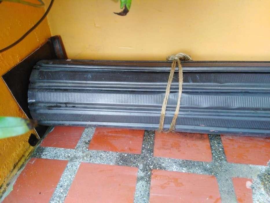 puerta metalica para negocio