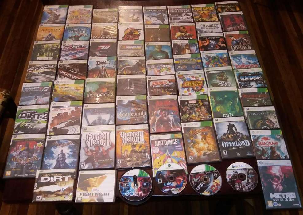 70 Juegos de XBOX 360