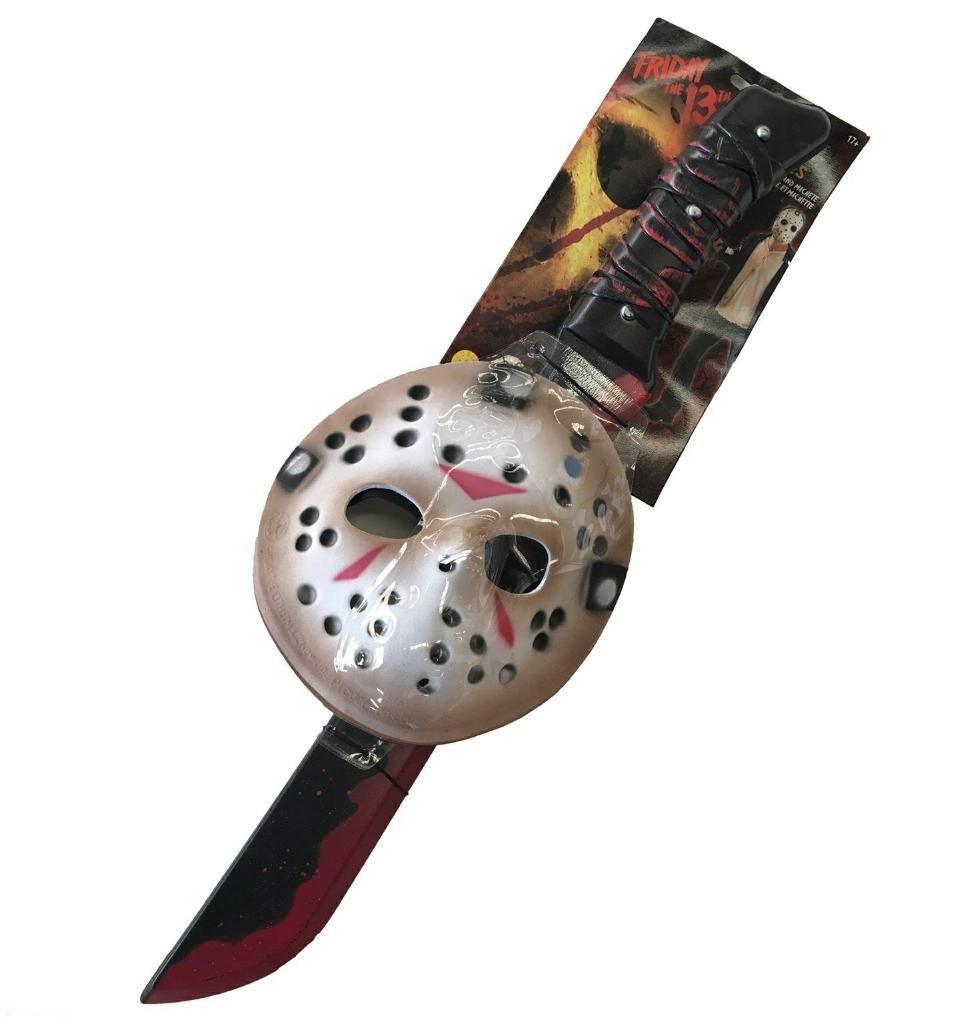 Mascara Machete Jason Viernes 13 por 12