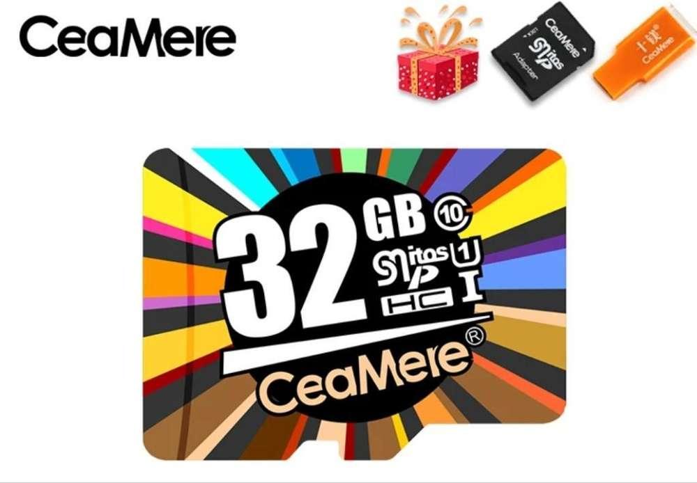 Microsd 32gb Clase 10 Micro