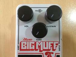 Pedal para Bajo BIG MUFF Bass Distortion Fuzz Overdrive