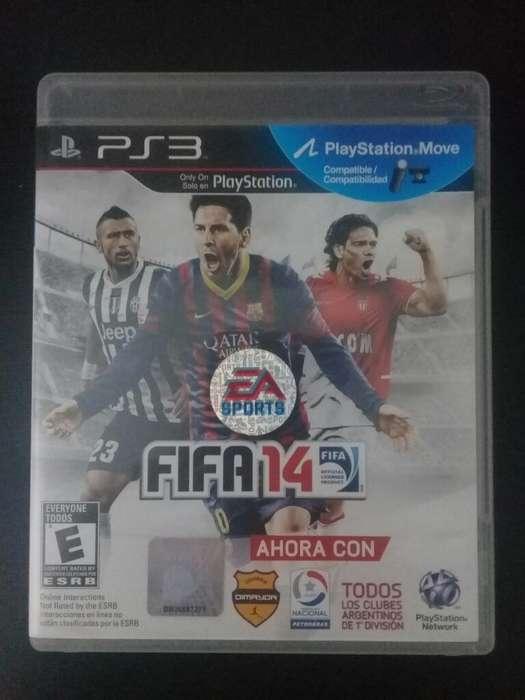 Fifa 14 PS3 Play3 10/10 Vendo o Cambio