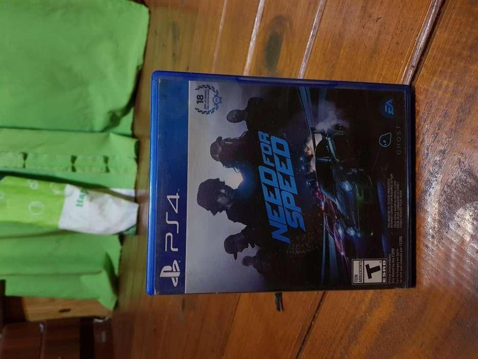 Need For Speed juego de ps4 impecable estado
