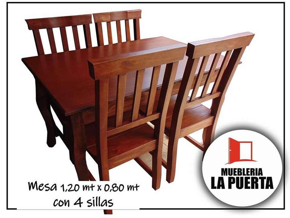 JUEGO DE <strong>comedor</strong> PARA 4 PERSONAS