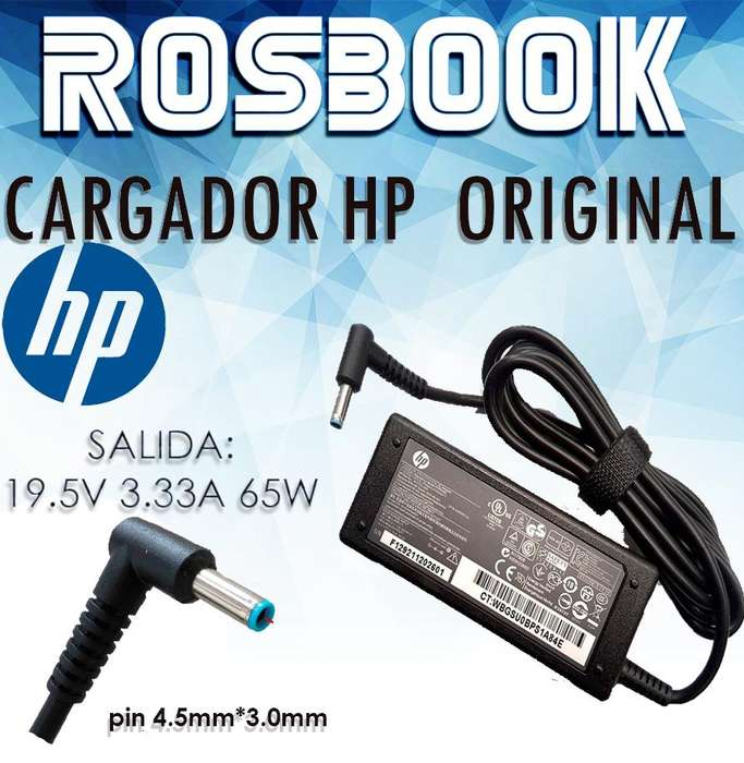 Cargador Noteboo Hp 240 G5 255 G5 250 G5