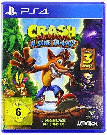Crash PlayStation 4