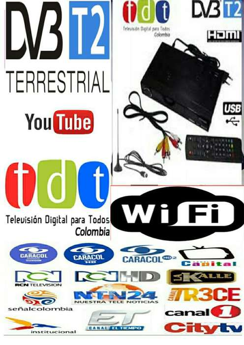 Promocion Combo Tdt Decodificador Youtub