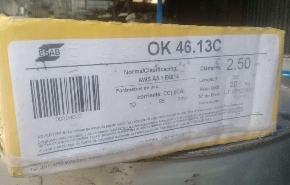 Caja De Electrodos 2.5mm Esab X 20kg Canjeo X Morsa