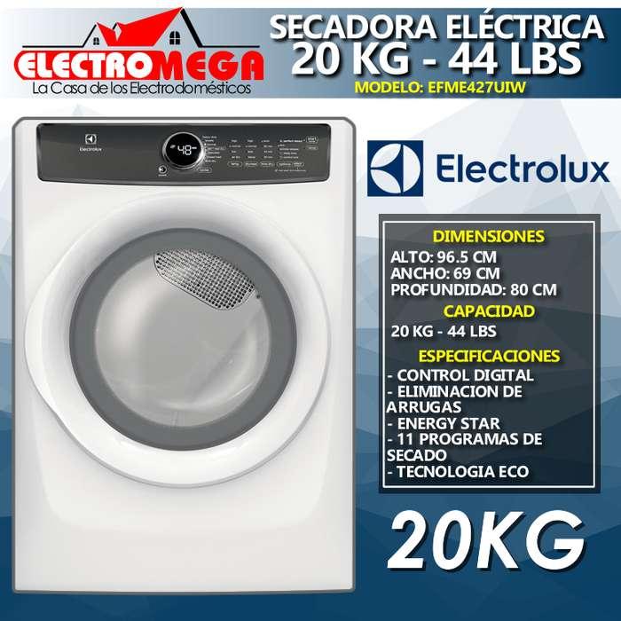 <strong>secadora</strong> Electrica 220v Electrolux 20kg 44lbs Efme427uiw
