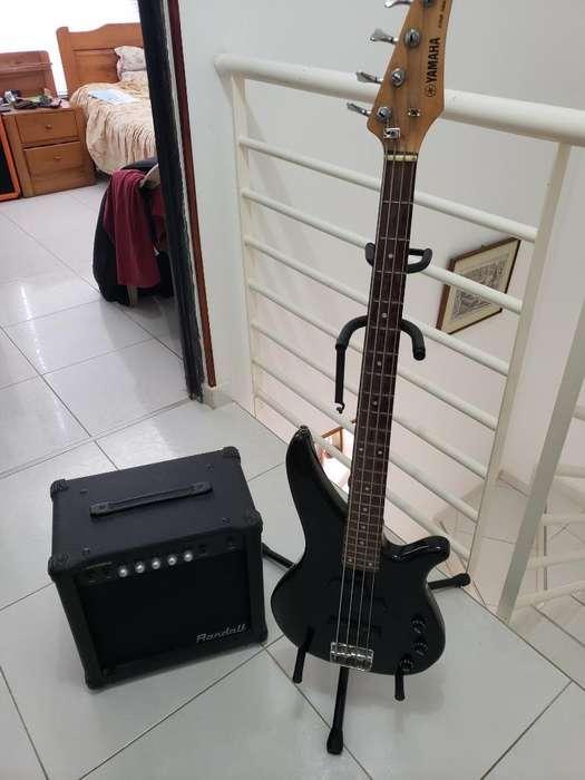 bajo Yamaha Erb 300-ll/amp Randall Big