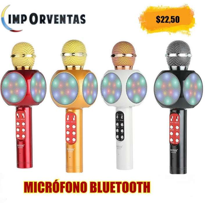 Microfono Bluetooth con Luces