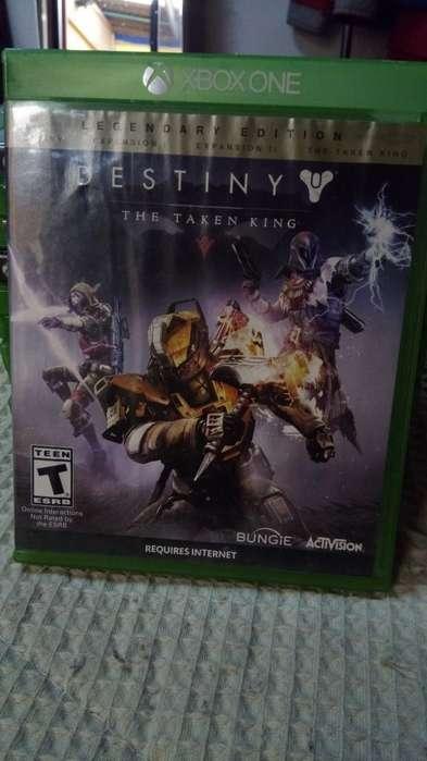 Juego de Xbox One,destiny The Taken King