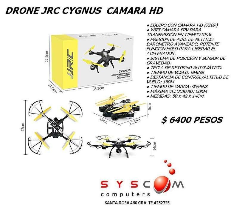 DRONE CYGNUS JRC 60 CMTS DE DIAMETRO GARANTIA 6 MESES