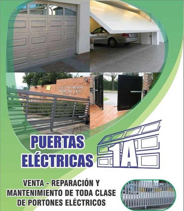 Portones Eléctricos A Control Rem.