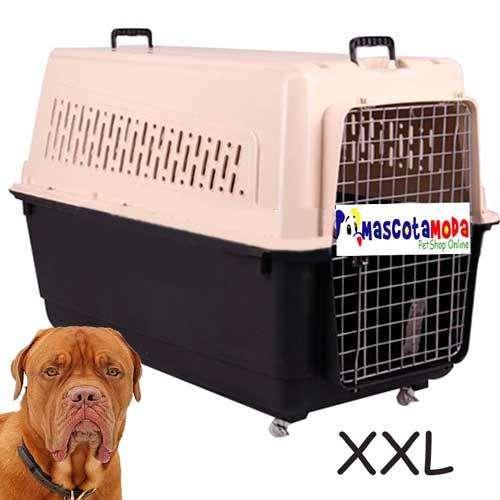 Kennel caja de viaje para perros grandes y gigantes avión y terrestre