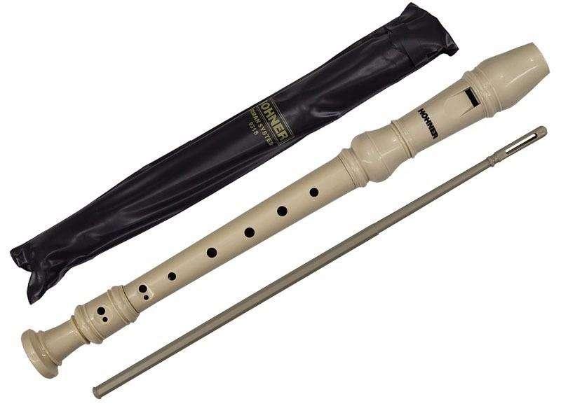 Flauta Hohner Soprano Original Alemana De 3 Piezas