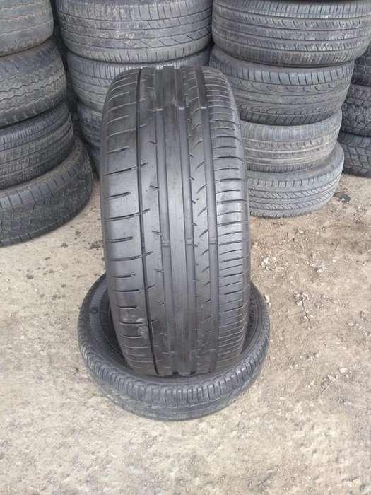 Neumático 235/55 r17 Dunlop usado