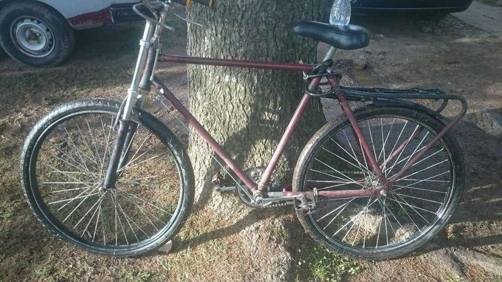 Bici Inglesa con Doble Cristo