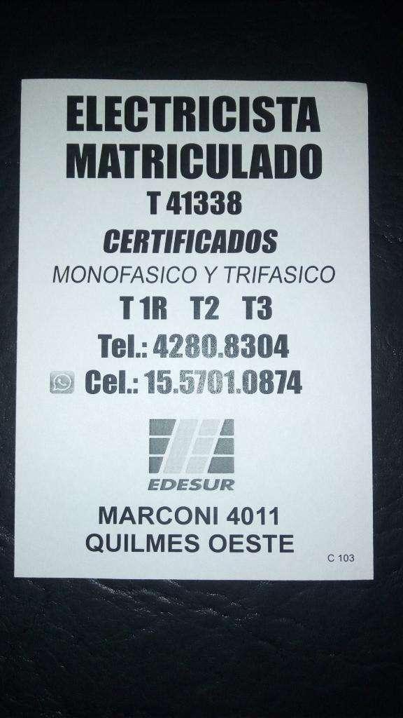 Certificados para Edesur
