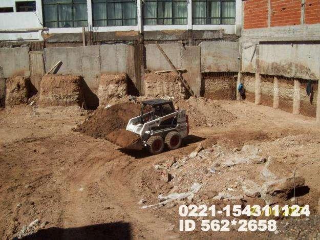 Relleno de terrenos, nivelación, compactación