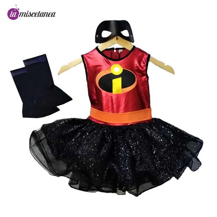 Disfraz de increibles para niña