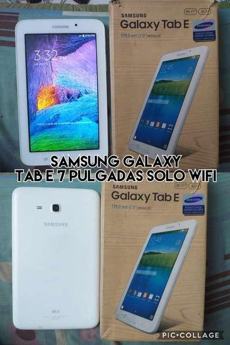 samsung galaxy tab E 7 pulgadas solo wifi venta cambios