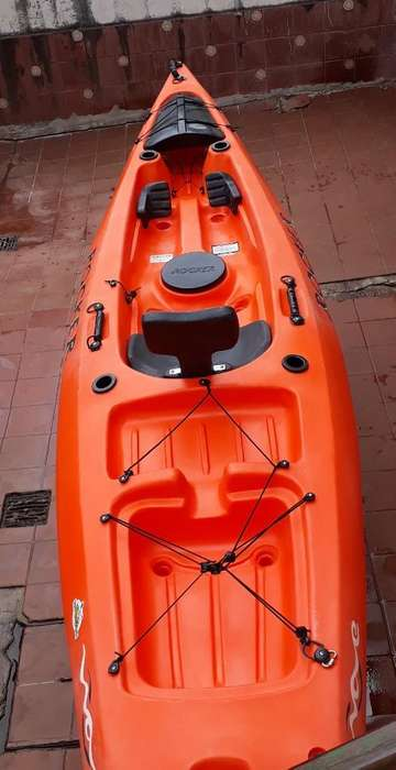 Kayak Rocker Wave Usadomuy Buen Estado