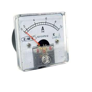 Amperimetro análogo 50x50mm