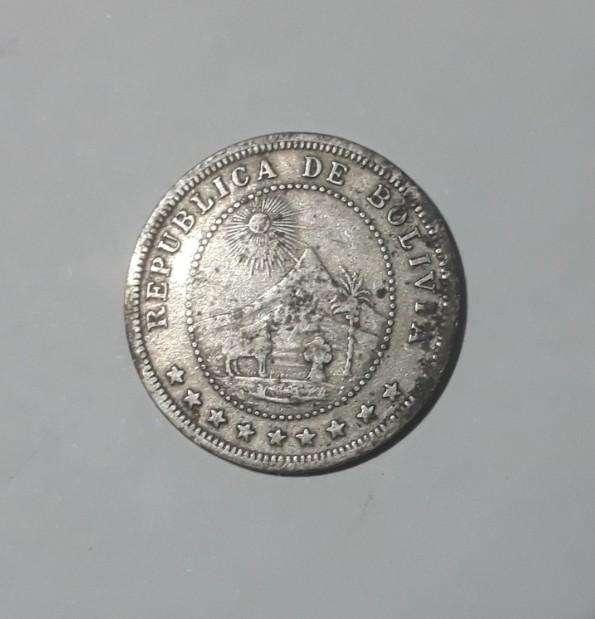 Moneda de Bolivia, 5 centavos de 1895