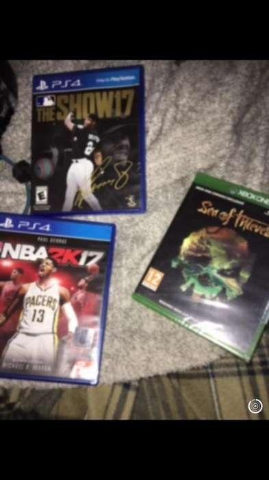 Juegos play 4 y Xbox
