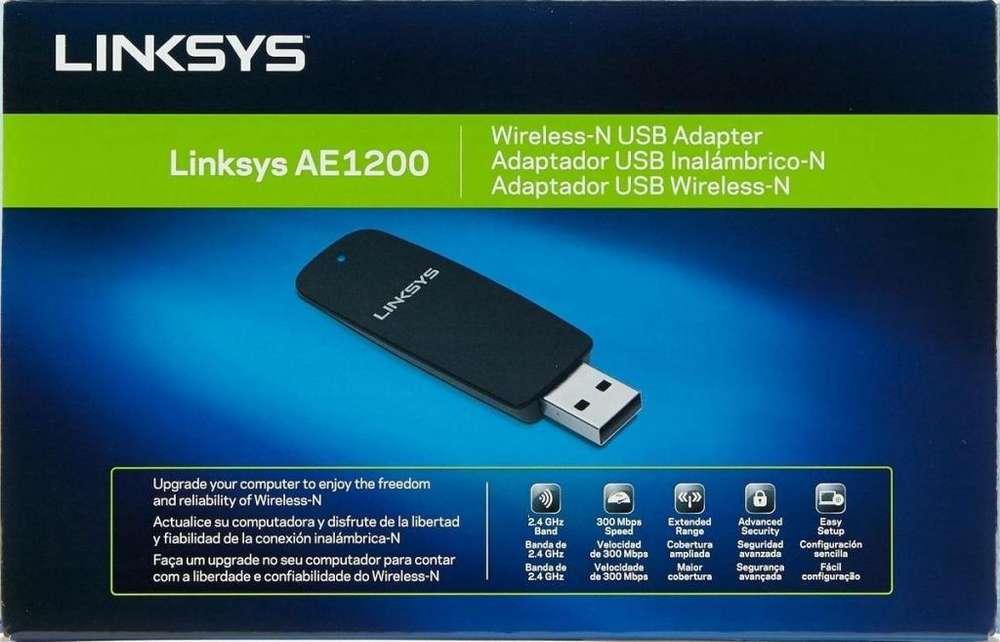 Placa De Red Wifi Usb Linksys Ae1200 300mb Zona Alto Rosario BLASTER PC