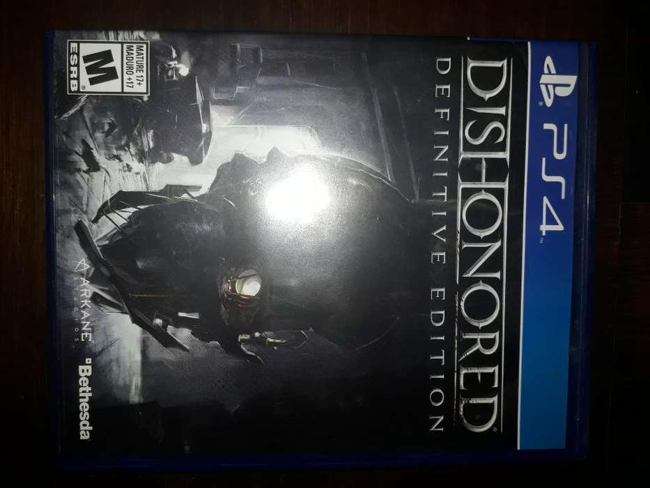 Vendo Dishonored 1 Definitive Edition