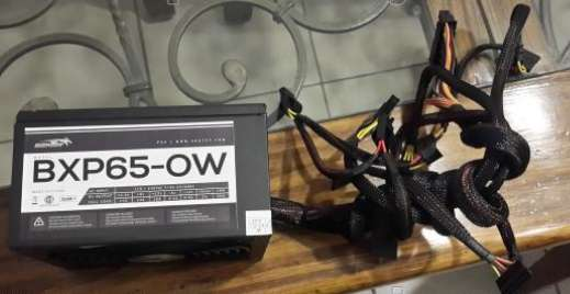 Fuente <strong>pc</strong> Sentey 650w Bxp65-ow Gamer Cooler 140mm Atx <strong>pc</strong>i-e
