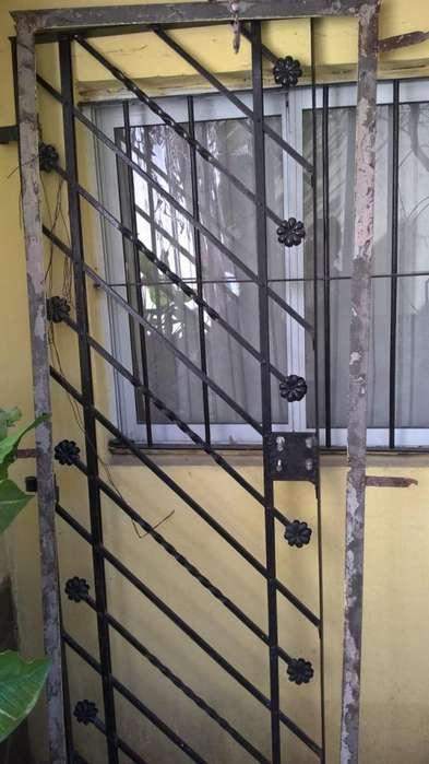 puerta reja con marco 73 con marco 63 sin marco y 205 de alto