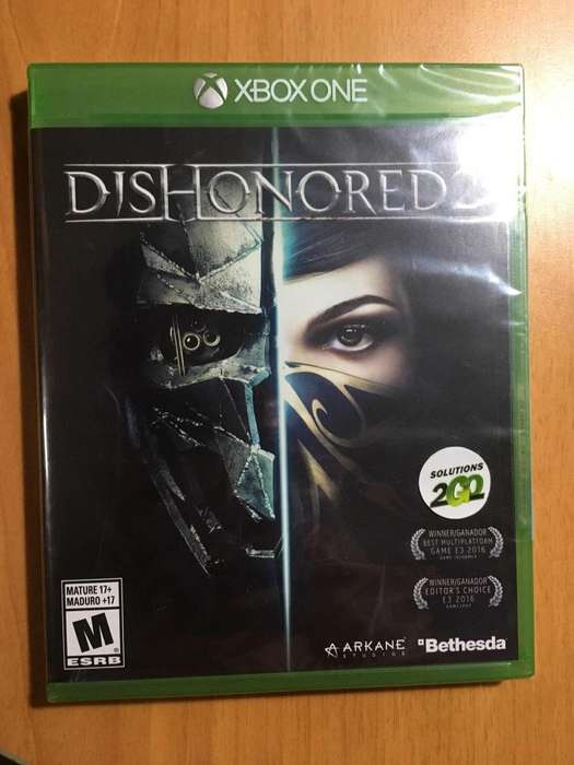 Dishonored 2 Xbox One NUEVO Y SELLADO
