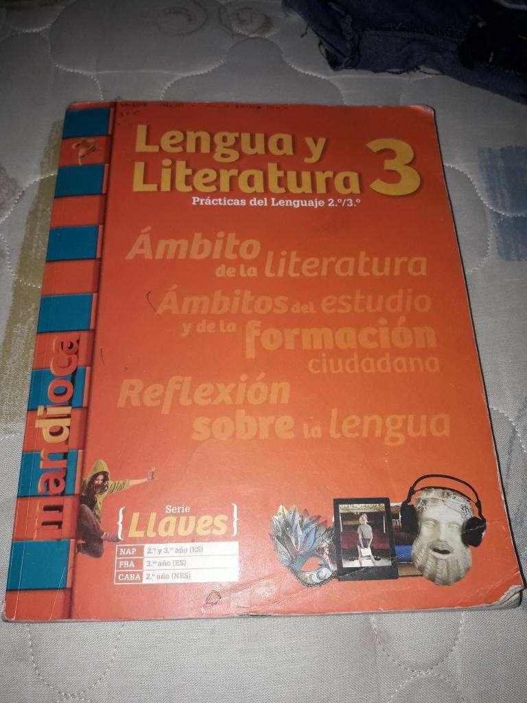 Vendo Libro de Lengua Y Literatura 3