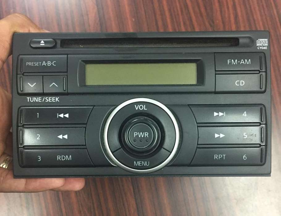 Cd Player Nissan Versa