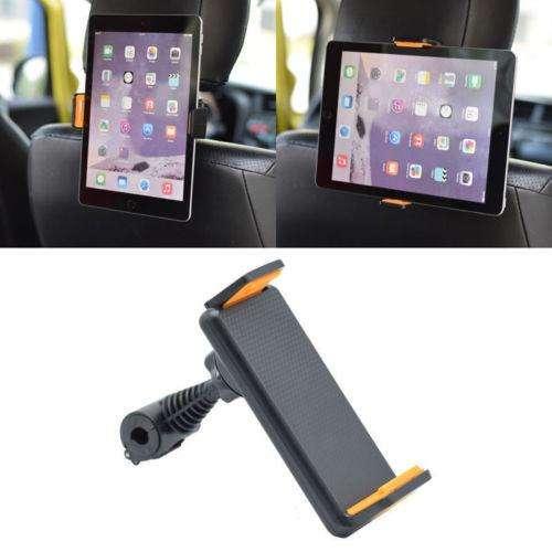 Soporte para Teléfono Tablet 4 10 360? Giratorio Reposacabezas Coche Asiento trasero