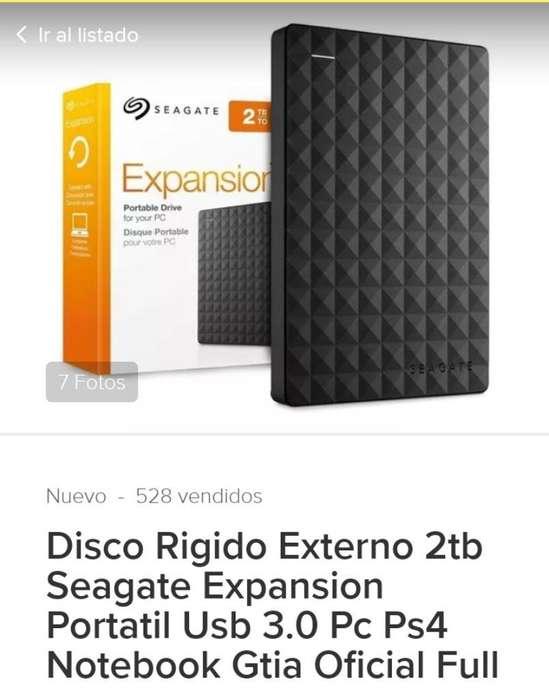 Vendo Disco Externo 2 Tb
